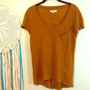 5 for $14 - Madewell Shirt. Burnt Orange, Small